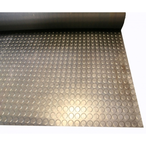 CIRCULAR STUDDED RUBBER MATTING
